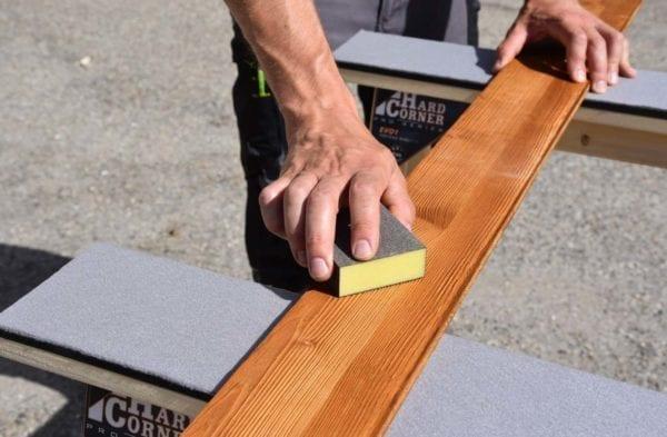 Hard Corner accessoire travail grand soin, protection des pièces