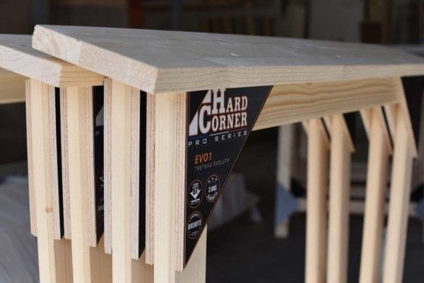 Treteau Hard Corner, support de votre travail
