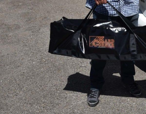 Hard Corner treteau, sac de transport pour accessoires